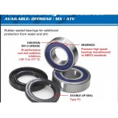 Kit Roulements de Roue All Balls Av/Ar Yamaha Yfz450