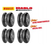 Pack de 4 Trains de Pneus Diablo Supercorsa Sc V1 (4X120/70Zr17 + 2X18