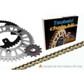 Kit Chaine 400 Xpress 96 Transmission: 13x34, Chaine : 520 MX ALPHA