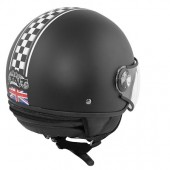 CASQUE 1/2 JET TNT PUCK CAFE RACER UNION JACK L