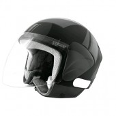 CASQUE JET TNT APOLLO NOIR BRILLANT S
