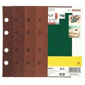 DeWalt feuilles abrasives grain 60/Papier – 8 trous 93 x 230 mm Lot de 25, dt8595 QZ