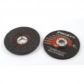 2 Pcs 15200RPM 100mmx6mmx16mm Abrasives Polishing Grinding Pad Wheel