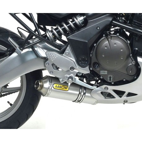 Pot ARROW SLIP-ON MAXI RACE TECH Aluminium Homologue Kawasaki ER-6N / ER-6F (05-11) / VERSYS 650 (07-11)