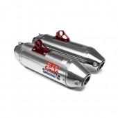 Silencieux Yoshimura Usa Rs2 Dual Alu/Casquette Inox Can-Am Maverick 1