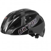 Casque Velo Adulte OKTOS CITY MAP Double INMOLD Noir M (52-58)