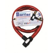 Antivol Cable Barrier 1.5M X 25Mm Rouge Oxford