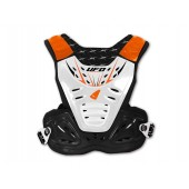 Pare-Pierre Reactor 2 Evo Adulte Noir/Blanc/Orange