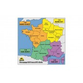 Carte Ign Gps Globe 1/2 France Sud 1/25000E